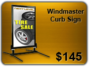 windmaster curb sign