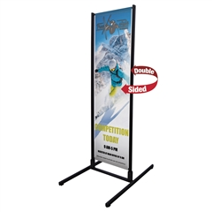 Four Seasons Dual Trak Banner Display Frame
