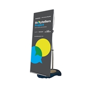 Blizzard Banner Stand Portable Indoor Outdoor