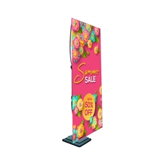 Outdoor Adjustable Banner Stand