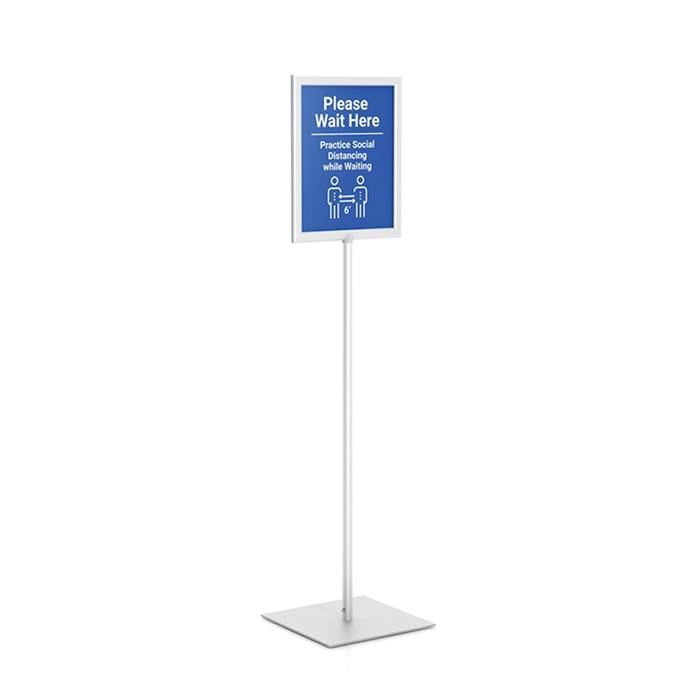 Stand Up Sign Pedestal Sign Stand Floor Sign Stands