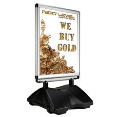 WindMaster V4 Mini Portable Outdoor Sign