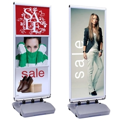 WindMaster V4 Jumbo Portable Outdoor Sign