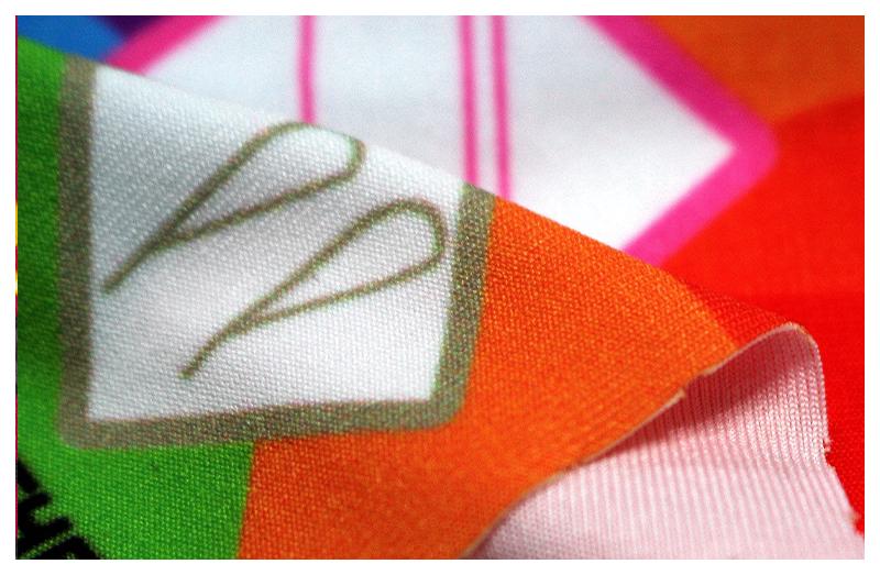 Flame-Retardant 180g Elastic Polyester
