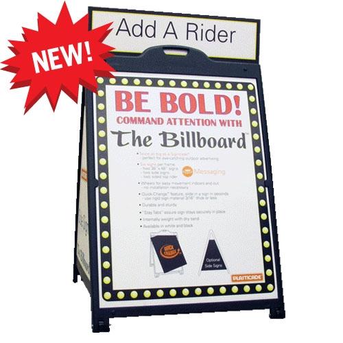 The Billboard Plasticade A-Frame Sign - 36\