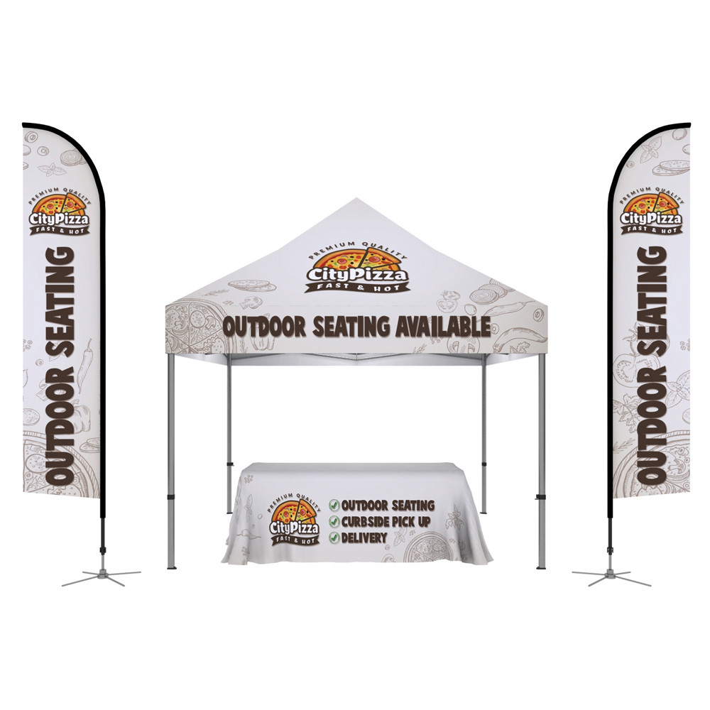10ft x 10ft Tent Package